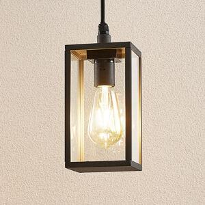 Lindby Lindby Filimon závěsné světlo, tmavošedé, E27