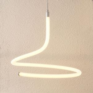 Lucande Lucande Serpentina LED závěsné světlo, stmívatelné