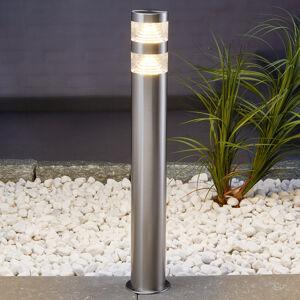 Lindby Svítidlo pro chodníky z nerezu Lanea s LED 60 cm