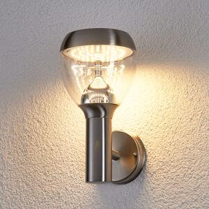 Lindby Etta LED venkovní nástěnné svítidlo z nerezu