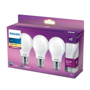 Philips Philips LED žárovka Classic E27 A60 7W 827 mat 3ks