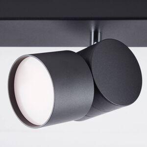 AEG AEG Twine LED stropní světlo, černá, čtyři zdroje