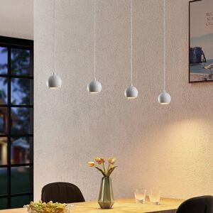 Arcchio Arcchio Renko závěsné světlo čtyřžárovkové, bílá