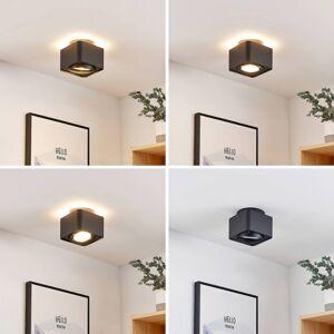 Arcchio Arcchio Talima LED stropní svítidlo hranaté, černé
