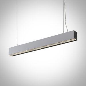 Arcchio Arcchio Thores LED závěsné světlo, 85 cm stříbrná