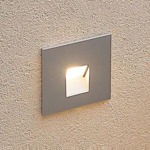 Arcchio Arcchio Vexi LED podhledové světlo hranaté stříbro