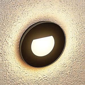 Arcchio Arcchio Abia LED podhledové světlo, kulaté černé