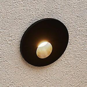Arcchio Arcchio Vexi LED podhledové svítidlo kulaté, černé