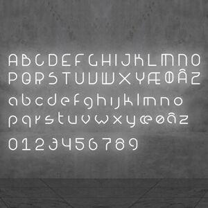 Artemide Artemide Alphabet of Light nástěnné světlo číslo 2