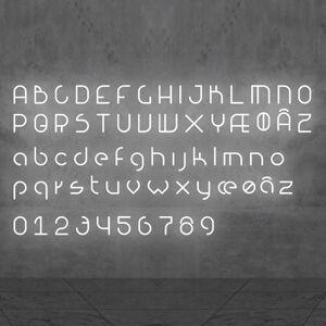 Artemide Artemide Alphabet of Light nástěnné světlo číslo 9