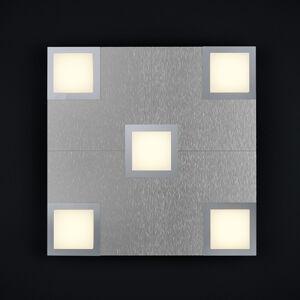 BANKAMP BANKAMP New Quadro stropní světlo 5 zdrojů hliník
