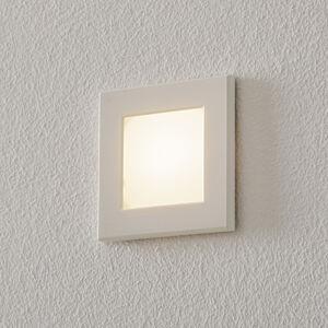 BEGA BEGA Accenta světlo hranaté rám bílý 160lm
