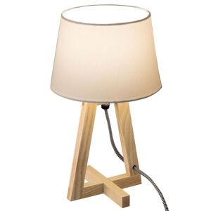 Nino Leuchten Pohodová stolní lampa Bray s textilním stínidlem