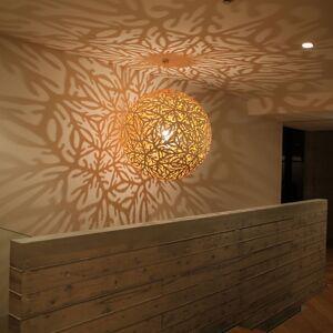 DAVID TRUBRIDGE david trubridge Sola závěsné světlo Ø80cm přírodní