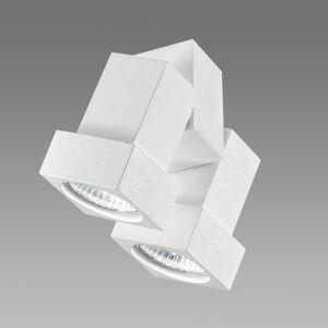 Egger Licht Stropní nebo nástěnný spot STYL Q 2 zdroje bílý