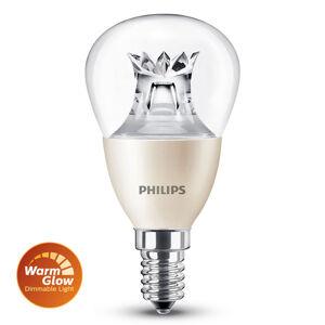 Philips E14 6W 827 LED kapková žárovka WarmGlow