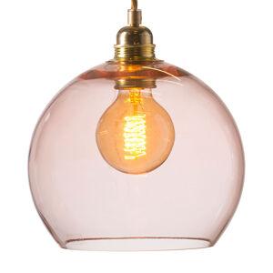 EBB & FLOW EBB & FLOW Rowan závěsné světlo růžové zlato Ø22cm