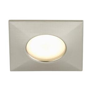 Briloner Hranaté LED podhledové svítidlo Ben venkovní, nikl