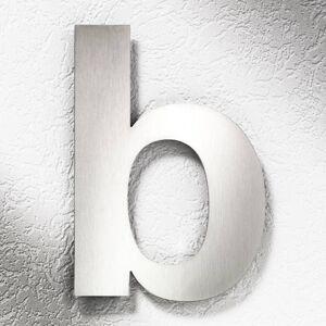 CMD Čísla domů z nerezové oceli velká - písmeno b