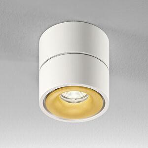 Egger Licht Egger Clippo LED stropní spot, bílý-zlatá, 3000 K