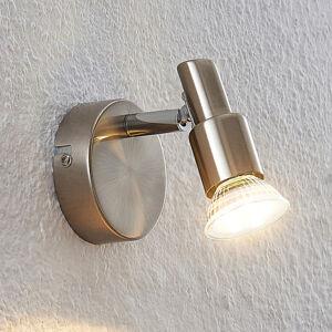 ELC ELC Farida LED spot, nikl, 1žárovkový