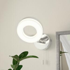 EGLO Praktická LED nástěnná lampa Gonaro tahový vypínač