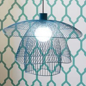 Forestier Forestier Papillon S závěsné světlo 56cm modrošedá