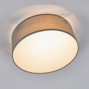 Smartwares Šedé textilní stropní světlo Ceiling Dream 30 cm