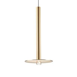GROK Grok Candle LED závěsné světlo 00-6017 zlatá