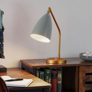 GUBI GUBI Gräshoppa stolní lampa, modrošedá
