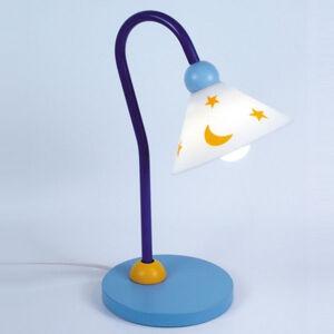 Niermann Standby Světle modré stolní světlo na čtení Prinz