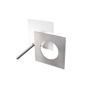 ICONE ICONE LED nástěnné světlo Petra 21.L, bílá, hliník