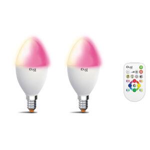 iDual iDual One E14 P45 5,3W 2ks RGBW dálkové ovládání
