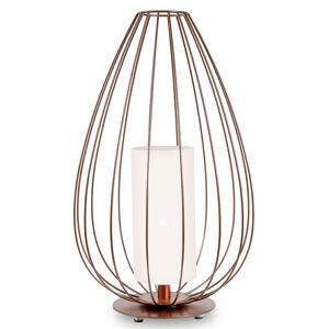 Karman Karman Cell - klecová stojací lampa, bronze, Ø55cm