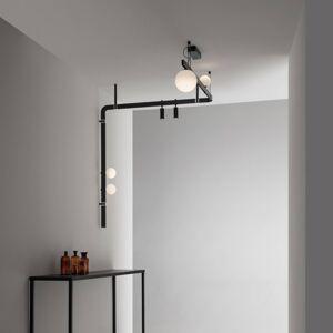 Karman Karman Stant LED nástěnné světlo černá šest zdrojů