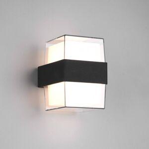 Reality Leuchten LED venkovní světlo Molina, hranaté, antracit