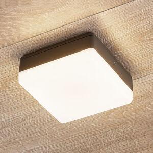 Lampenwelt.com LED stropní svítidlo Thilo, IP54, 16 cm snímač DS