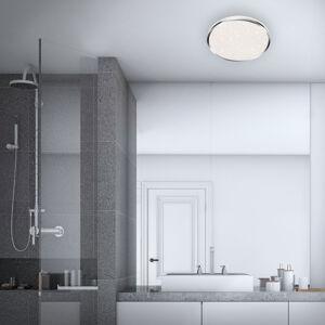Briloner LED stropní světlo 3403 IP44 hvězdný dekor, Ø 33cm