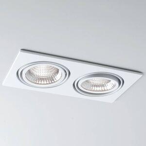 Molto Luce LED spot Now 2 Square Double bílá 3000K 2x 25°