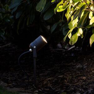LCD LED zapichovací reflektor 5018, černá, IP65