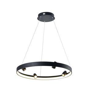 Viokef LED závěsné světlo Denis, kruh s mnoha spoty