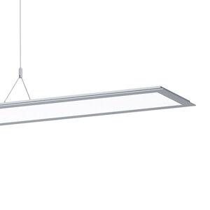 PERFORMANCE LIGHTING Závěsné světlo SL713PL, 124cm DALI, 9 250 lm, šedá
