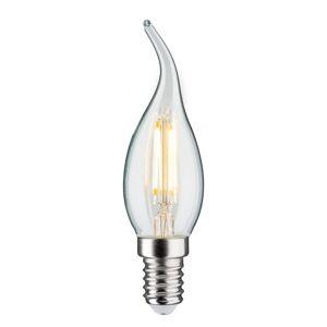 Paulmann LED svíčka E14 4,8W Fil. 2700K větruodolná čirá