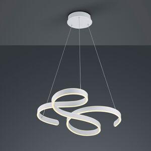 Trio Lighting LED závěsné světlo Francis, matně bílá
