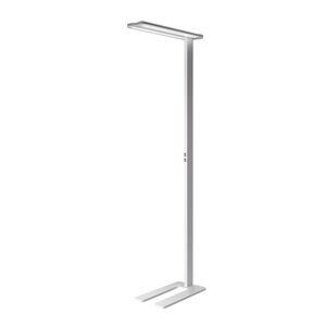 LTS LED stojací lampa Trentino II, stmívatelná, bílá