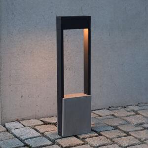 Deko-Light LED osvětlení cesty Chertan, betonový prvek, 60 cm