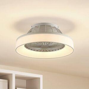 Lindby Lindby Circuma LED stropní ventilátor, bílý