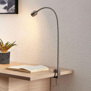 Lindby Lindby Hanilo LED světlo se svorkou, nikl
