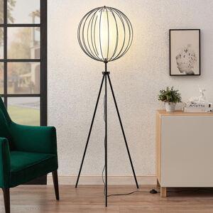 Lindby Lindby Koriko třínohá stojací lampa se stínidlem