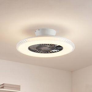 Lindby Lindby Ordanio LED stropní ventilátor se světlem